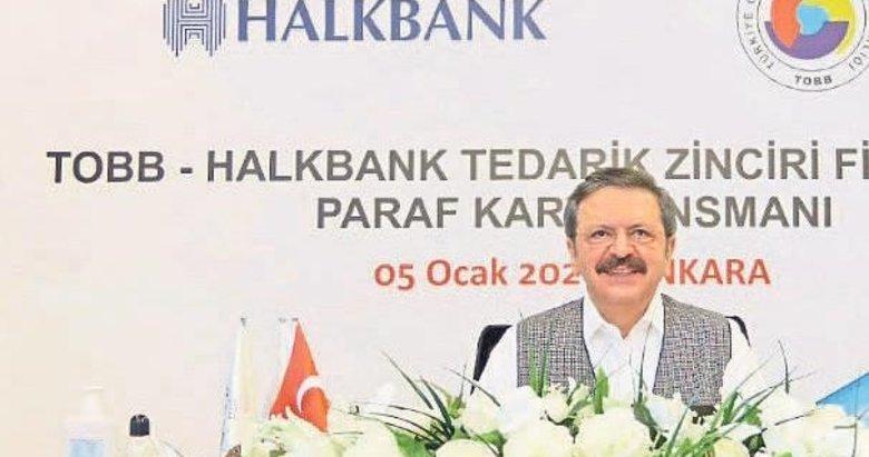 TOBB ve Halkbank'tan KOBİ'leri rahatlatacak anlaşma