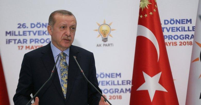 Cumhurbaşkanı Erdoğan: Bu asrın Nene Hatunusun
