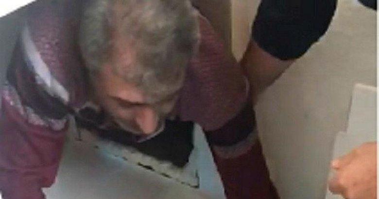 Mutfak dolabından cinayet zanlısı çıktı! Polis çiftlikte 5 saat onu aradı