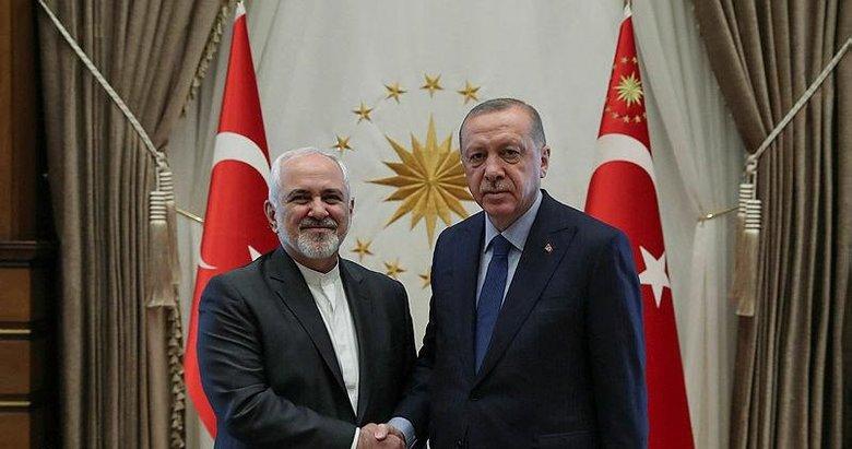 Başkan Erdoğan Cevad Zarif'i kabul etti