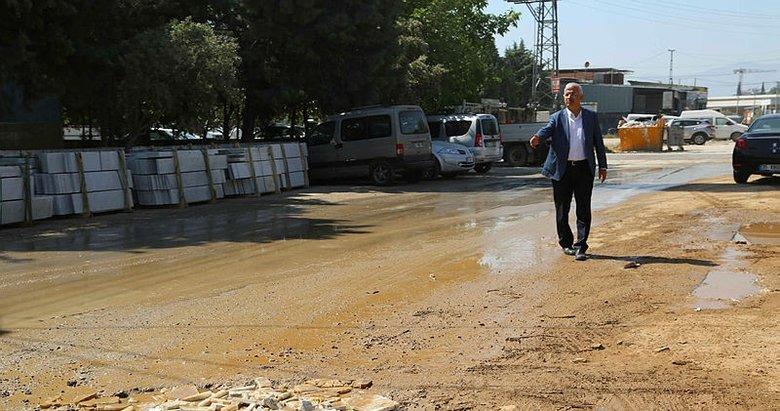 İZSU çalışmaları Torbalıyı Halepe çevirdi