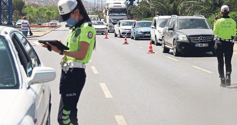 İzmir trafiğinde ceza yağmuru