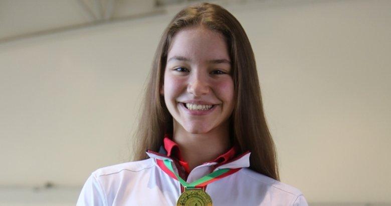 'Altın Kız' Ayşe Begüm'ün gözü Avrupa şampiyonluğunda