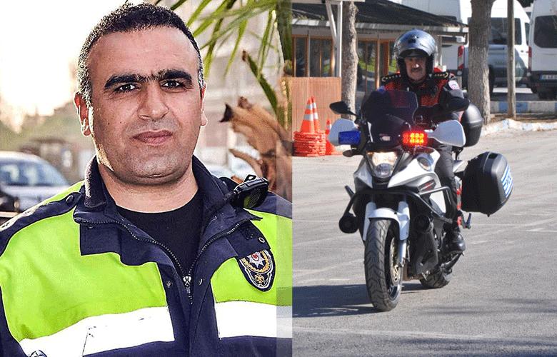 İzmir'de duygulandıran anlar! Fethi Sekin'in motosikleti ilk kez törene getirildi