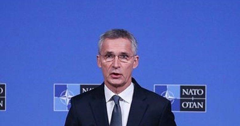 NATO Genel Sekreteri Jens Stoltenberg'den Suriye açıklaması .