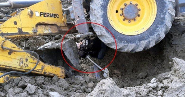 Devrilen kepçenin altında kalan işçi yaşamını yitirdi