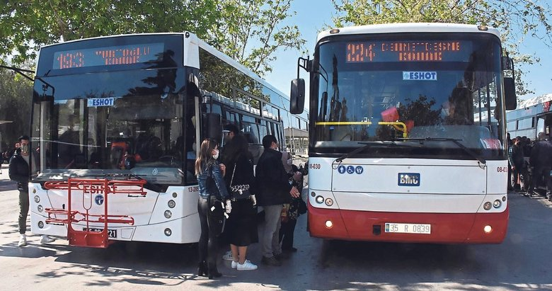 İzmir'de ulaşım mağduriyeti sürüyor