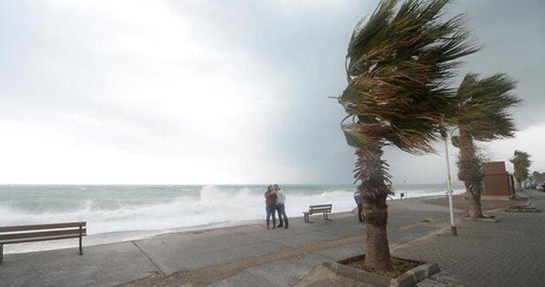 Meteoroloji'den o illere fırtına ve kuvvetli yağış uyarısı! 18 Eylül İzmir ve Ege hava durumu