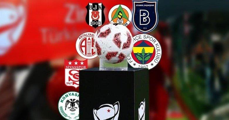 Ziraat Türkiye Kupası'nda çeyrek final eşleşmeleri belli oldu!