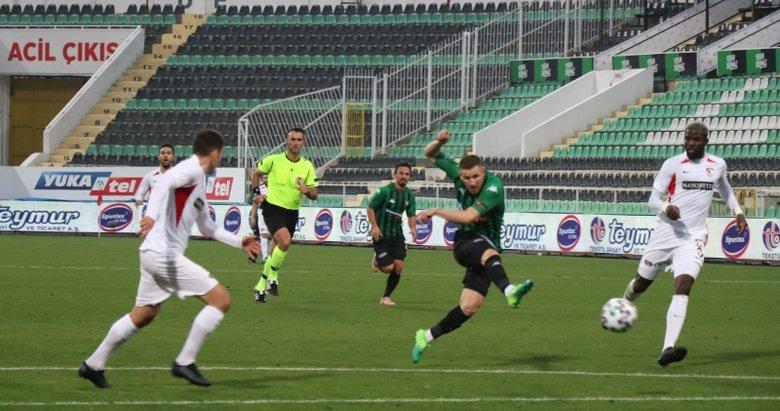 Denizlispor: 0 - Gaziantep FK: 1 Maç sonucu