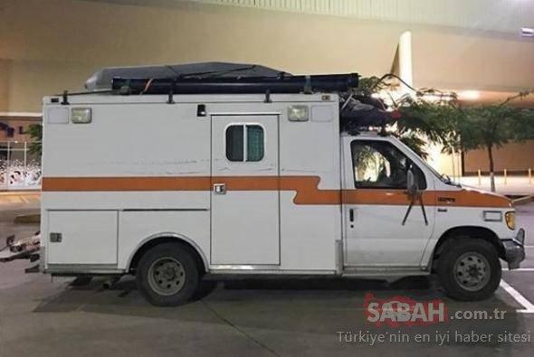 Eski ambulansın son halini görenler inanamadı
