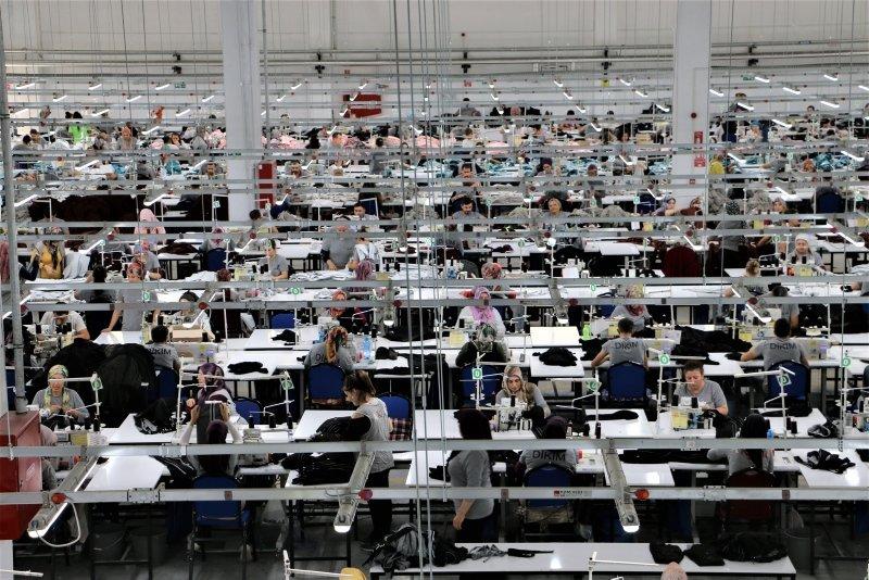 Göç veren ilçenin kaderi tekstil yatırımıyla değişti