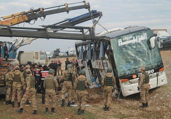 Silopide otobüs faciası: 9 ölü