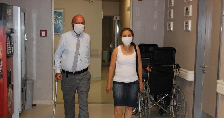 İzmir'de çifte bayram, organ nakli ile hayata tutundular