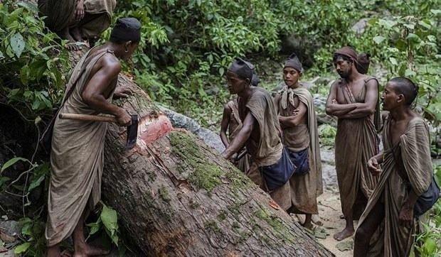En ilkel kabilenin tüyler ürperten geleneği! Maymun etiyle besleniyorlar...