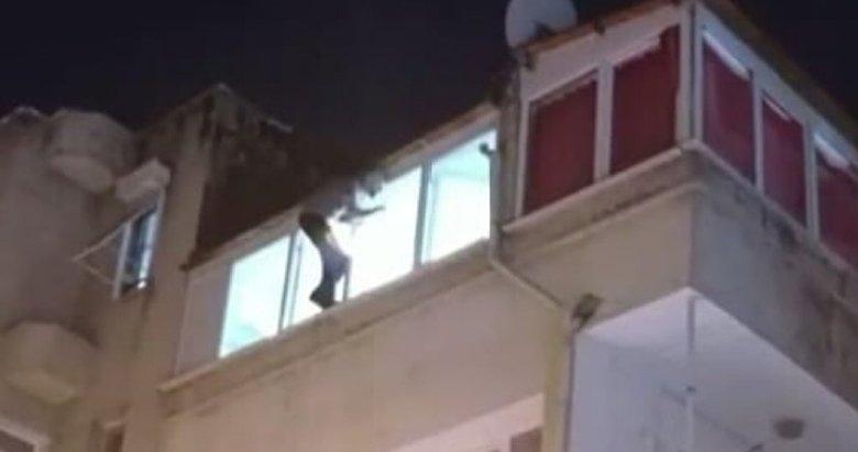 Cezaevi firarisi gözaltına alınmak isteyince intihara kalkıştı