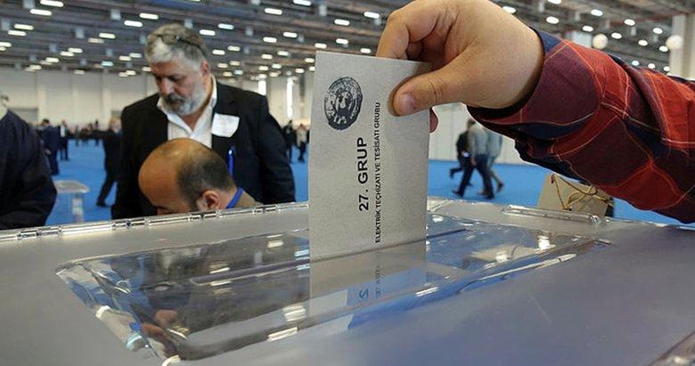 İTO seçimlerinde kıran kırana yarış
