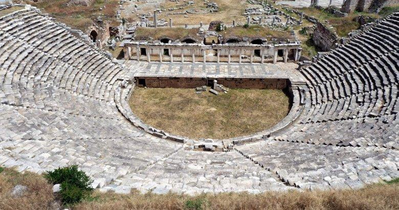 Aydın'daki Afrodisias Antik Kenti'ne 1 milyona yakın ziyaretçi bekleniyor