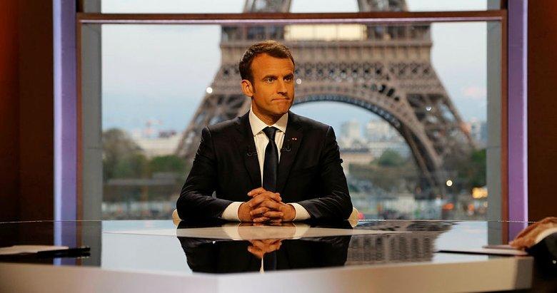 Macron: Türkler ve Ruslar'ı ayırmayı başardık