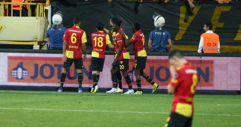 Göztepe Süper Lig'e tutundu! İşten maçtan önemli kareler