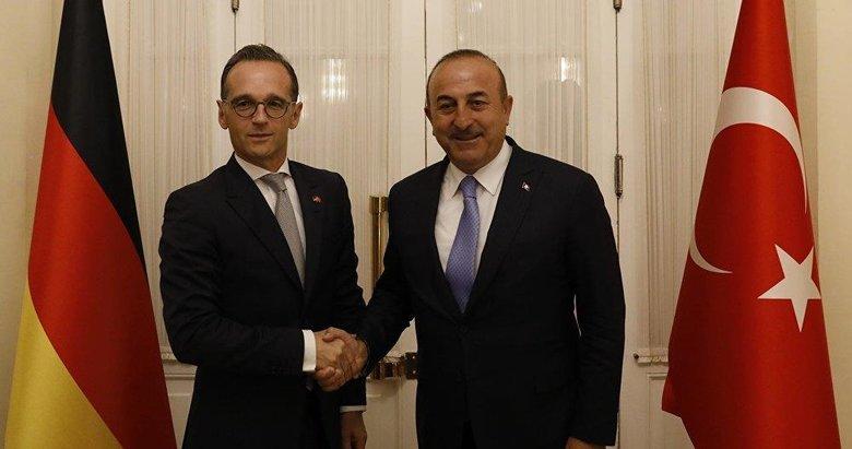 Türkiye ile Almanya arasında kritik Doğu Akdeniz görüşmesi