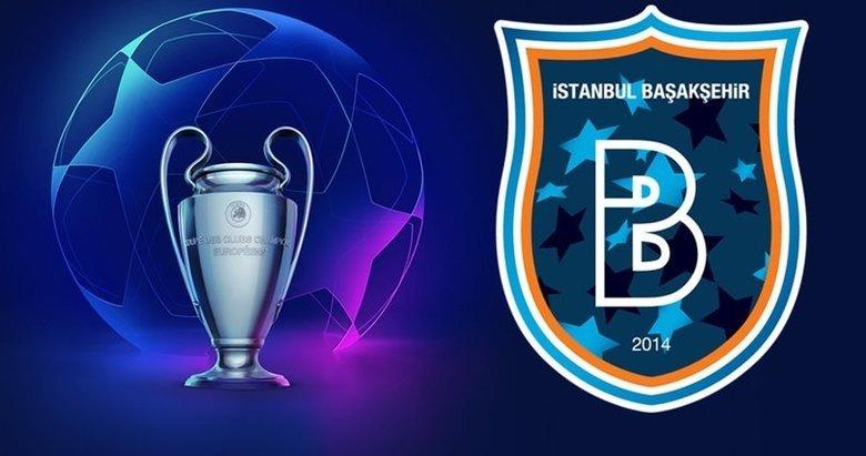 Medipol Başakşehir'in Şampiyonlar Ligi'ndeki rakipleri belli oldu!