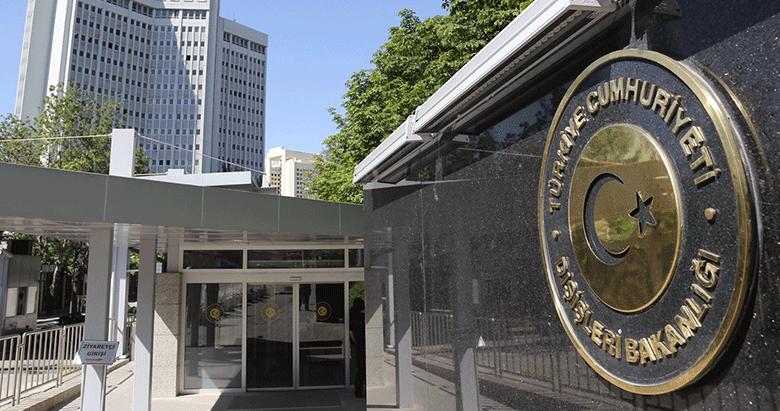 Dışişleri Bakanlığı'ndan 'Münbiç' açıklaması