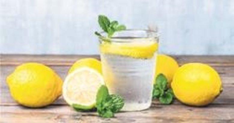 Limonlu su aknelerin düşmanı