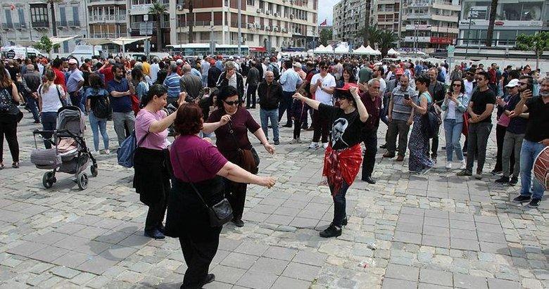 İzmir'de 1 Mayıs'ın adresi Gündoğdu