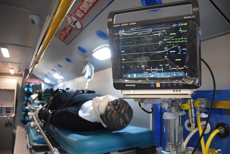 Bodrum'da dünyanın tam donanımlı, ilk mobil hastane otobüsü