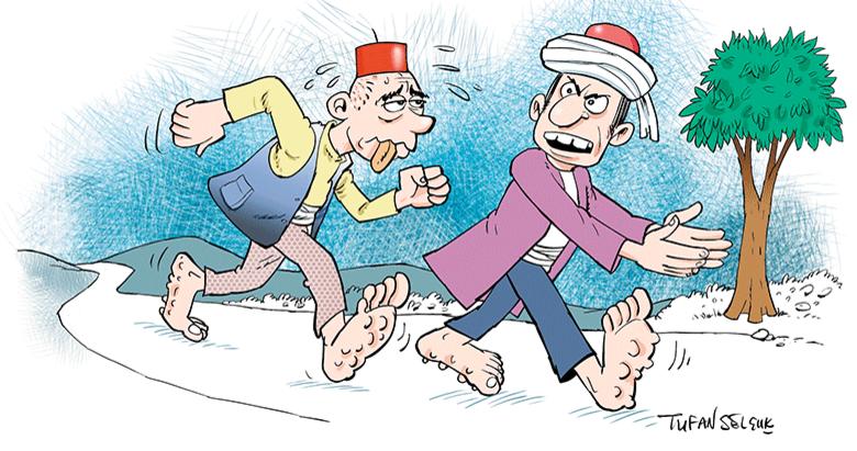 Komedide Türk'ün eline kimse su dökemez