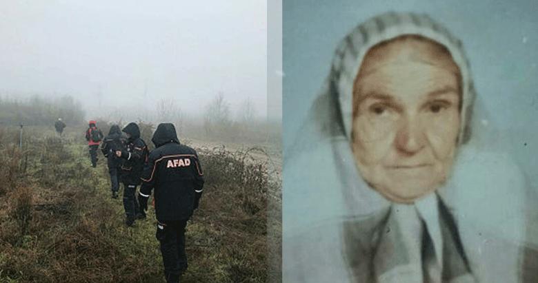 İzmir'de 3 gündür kayıp olan yaşlı kadın ölü bulundu
