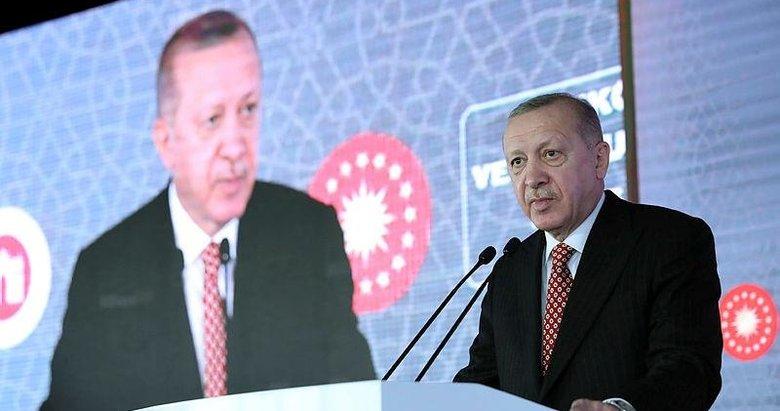 Başkan Erdoğan'dan Beykoz Cam ve Billur Müzesi Açılış Töreni'nde önemli açıklamalar
