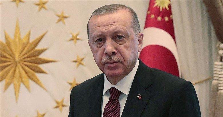 Başkan Erdoğan'dan şehit Kızılay personelinin ailesine başsağlığı mesajı