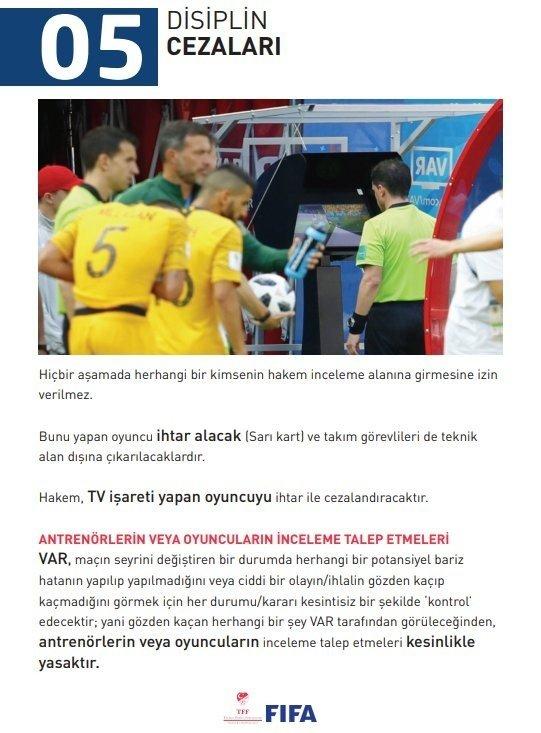 Süper Lig'de 'VAR' nasıl kullanılacak?