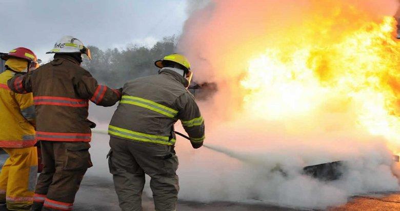 Kemalpaşada korkutan yangın