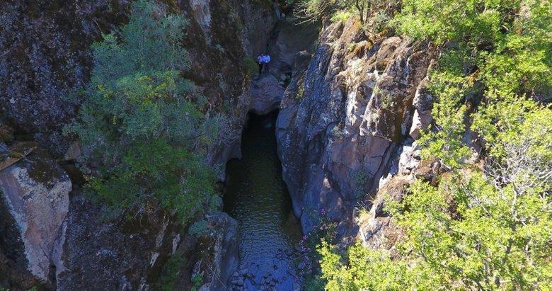 Manisa'daki bu kanyon keşfedilmeyi bekliyor