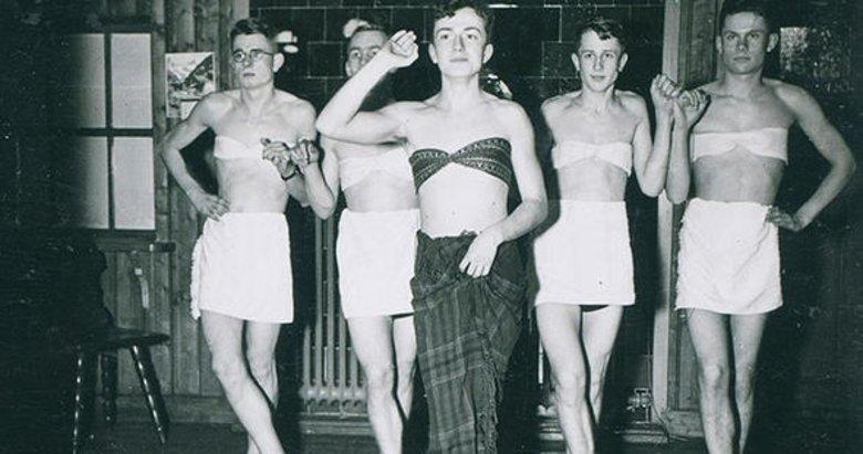 Nazi askerlerinin şoke eden fotoğrafları