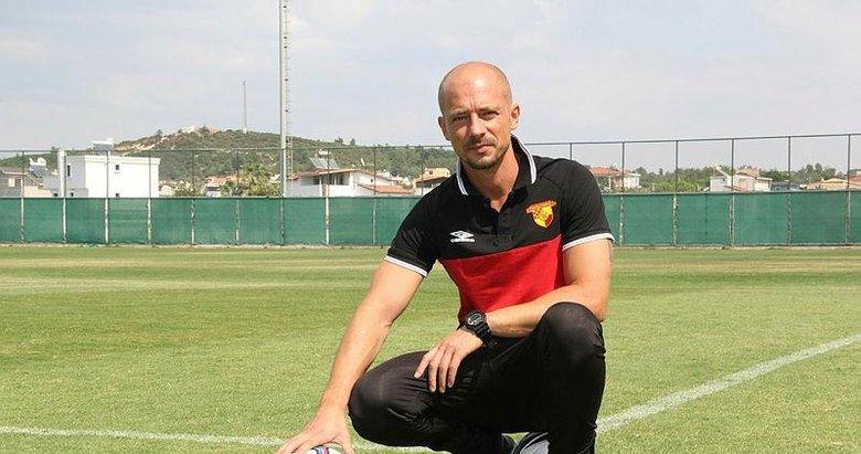 Göztepe Teknik Direktörü Maestro: Altay maçına çok değer veriyoruz