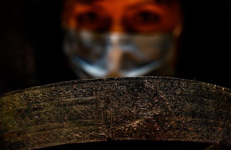 2 bin 800 yıllık prenses kemeri İzmir'deki müzede sergileniyor