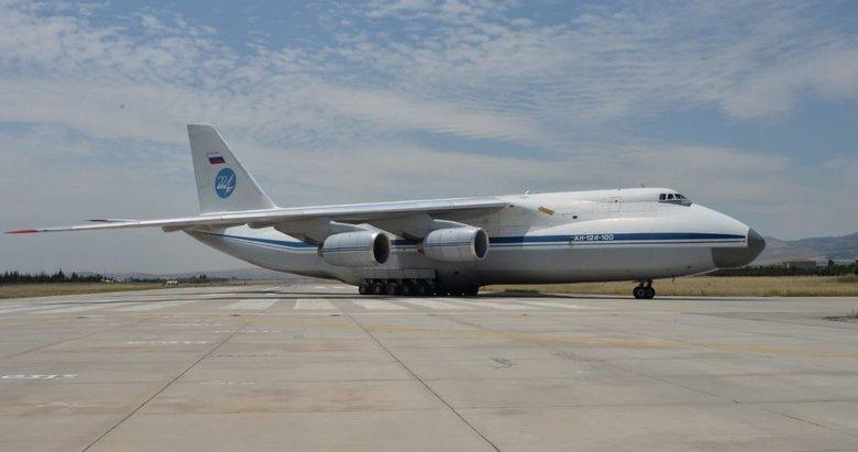 S-400 teslimatı devam ediyor! 9. Rus uçağı Mürdet'e indi