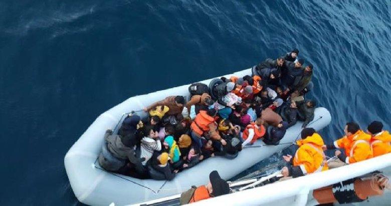 Egede bir günde 483 göçmen yakalandı