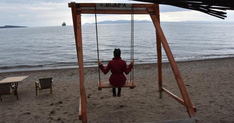 İzmir'de acı yüklü salıncak