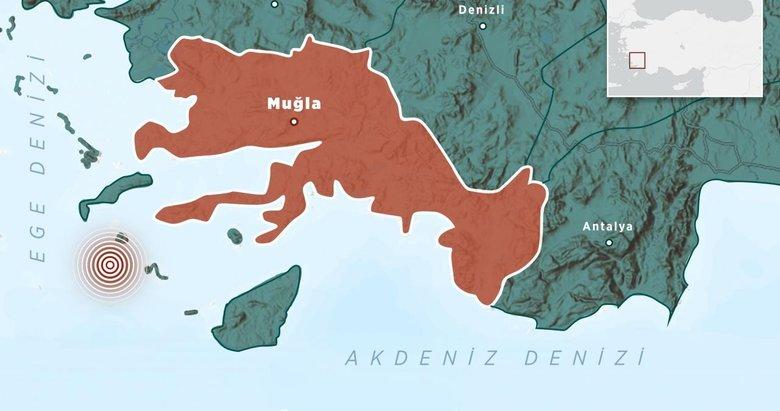 Son dakika: Ege Denizi'nde 4,2 büyüklüğünde deprem