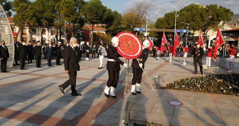 Muğla'da 10 Kasım töreni