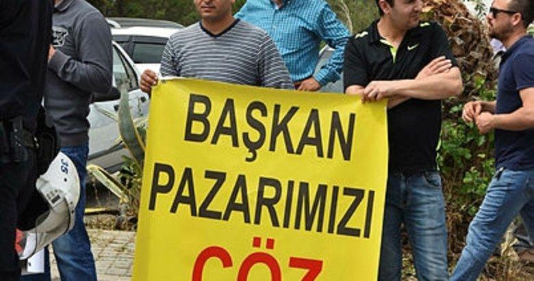 İzmirli pazarcılar isyan etti