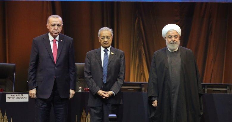 Türkiye-İran-Malezya arasında anlaşma! Başkan Erdoğan imza törenine katıldı