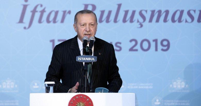 Başkan Erdoğan: Kasıtlı ya da sehven yapılan hataları ortaya çıkarttık