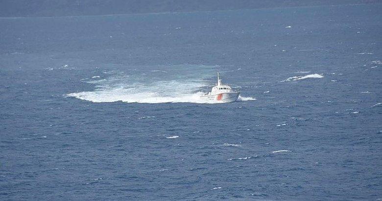 Çeşme'de Yunanistan unsurlarınca denize atıldığı belirtilen sığınmacı aranıyor