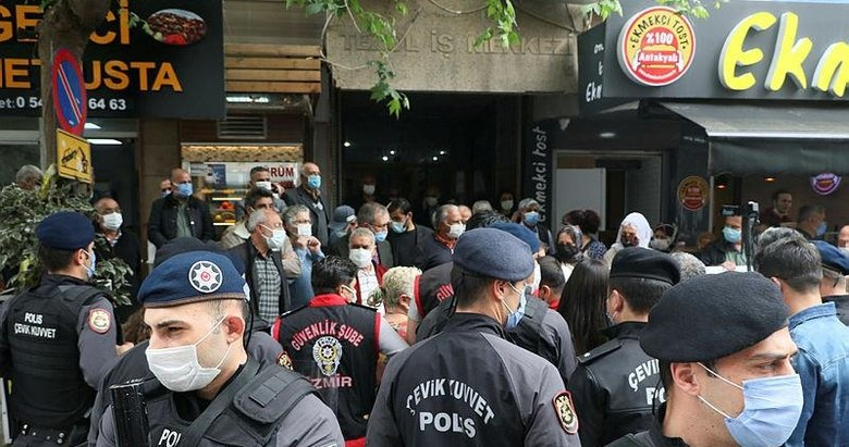 İzmir'de evlat nöbeti tutan babadan, çadırlarının kaldırılmasını isteyen HDP'lilere tepki